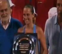 TENNIS: Roberta VINCI batte Sara ERRANI in finale: è suo il derby azzurro ai XXVI Internazionali di Tennis di Palermo