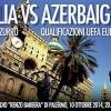 NAZIONALE. Qualificazioni Europei 2016: Italia-Azerbaigian a Palermo, Italia-Croazia a Milano