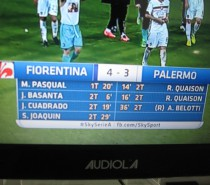 Voci di mercato.  Fiorentina – Palermo 4-3