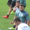 Gonzalez e El Kaoutari in ritiro – Le foto
