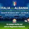 Rosanerosiamonoi di sabato 25 Marzo 2017. Italia-Albania 2-0