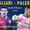 """Tim Cup – Alle 21.15 Cagliari-Palermo un solo grido """"Forza Palermo!!!!"""""""