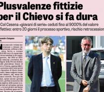 17 luglio. Serie A verso due rispescaggi . Gravissime le posizioni di Chievo, Cesena e Parma.