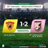 Benevento-Palermo 1-2 , vittoria fondamentale (VIDEO)