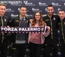 I tifosi incontrano i beniamini del Palermo (VIDEO)