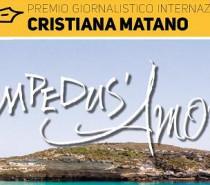 Premio Cristiana Matano 6-7-8 Luglio a Lampedusa