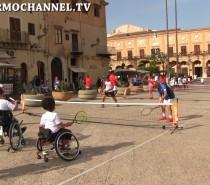 Tennis in piazza a Monreale (VIDEO) Seconda parte