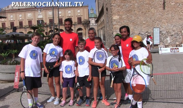 Tennis in Piazza a Monreale (VIDEO) – Prima parte