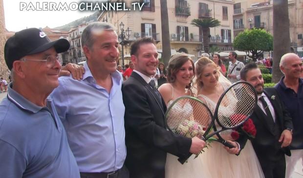 Tennis in piazza a Monreale (VIDEO) Ultima parte