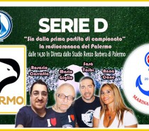 RTA, radiocronaca Ssd Palermo-Marina di Ragusa in diretta telefonica Pizzul