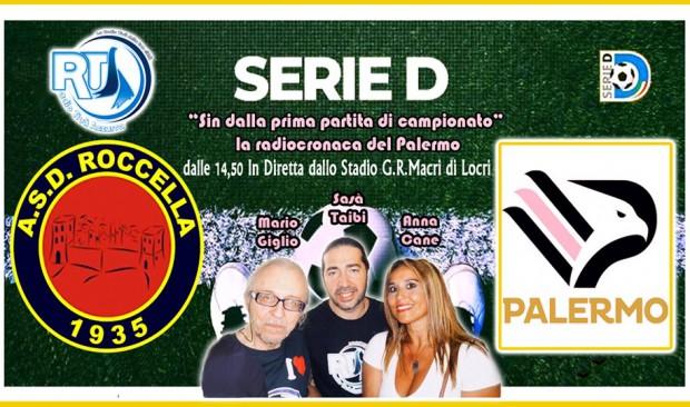 Roccella-Ssd Palermo radiocronaca su RTA