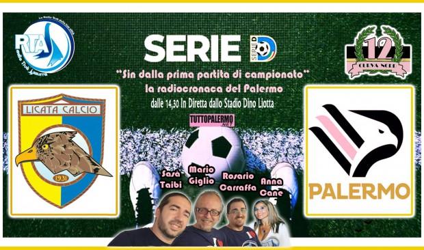 Licata – Ssd Palermo RTA la radiocronaca dalle 14.30