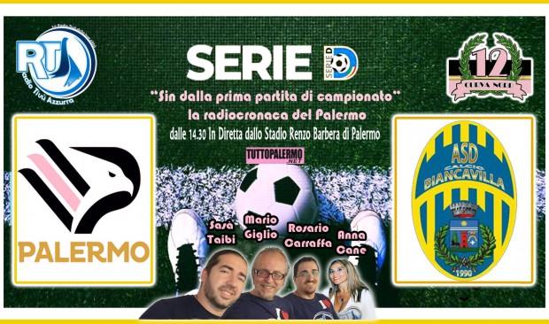Ssd Palermo – Biancavilla Radiocronaca su RTA ore 14.30