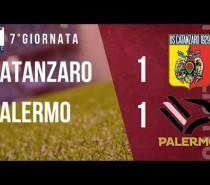 Catanzaro – Palermo 1-1: fa tutto Evacuo (VIDEO)