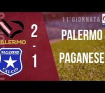 Palermo-Paganese 2-1 risultati, classifica, prossimo turno