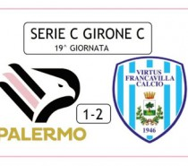Palermo – Virtus Francavilla 1-2 (VIDEO)