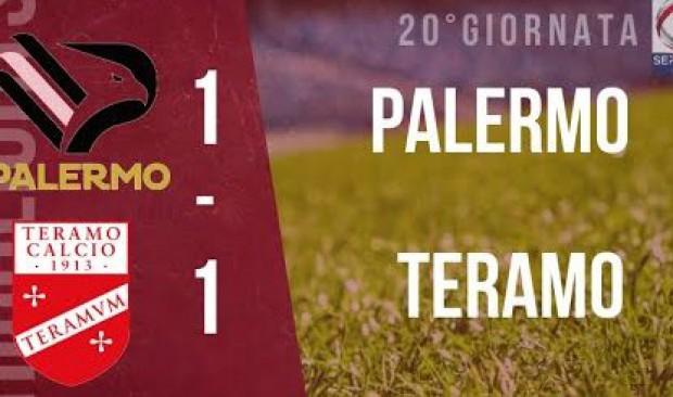 Palermo – Teramo 1-1 (VIDEO)