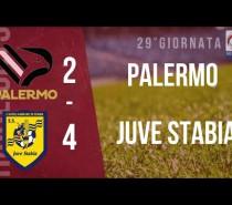 Colpiti ed affondati Palermo-Juve Stabia 2-4 ! (VIDEO)