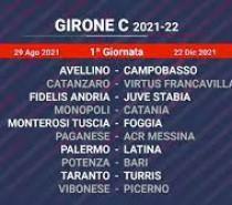 Calendario Serie C girone C
