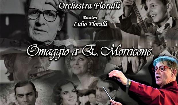 Omaggio Ennio Morricone, Orchestra Florulli al Parco Villa Filippina