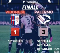 Vibonese – Palermo 1-3 (VIDEO)