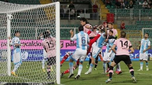 Palermo-Pescara 1-0 gol di Munoz