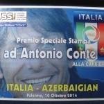 Ussi targa Conte Nazionale Italiana